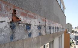 8 Vista general de la reparación del acero.