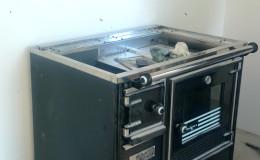 C4-Situamos la nueva cocina en su sitio.