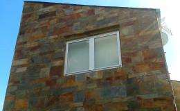 A4 Visera en fachada lateral.