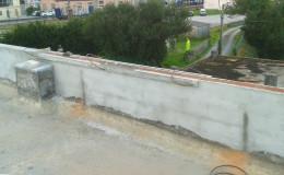T7 Enfoscados y regularización de los muros.