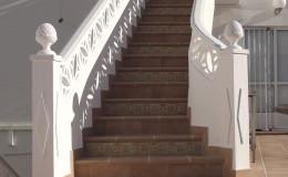 t8 Estado final: tramo superior de escaleras.