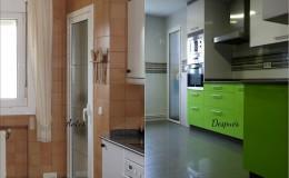 r5 Comparación de la zona de mobilario en cocina.