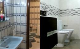 r6 Eliminación de puerta divisoria y renovación de suelos, azulejo y piezas en baño. (previo arranque de los anteriores)