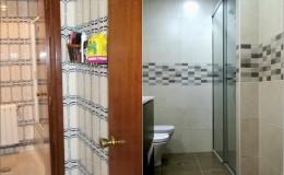r7 Eliminación de puerta divisoria y renovación de suelos, azulejo y piezas en baño 2. (previo arranque de los anteriores)