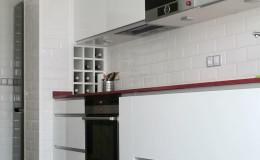 Cocina, lado izquierdo, otra perspectiva.