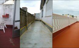 13 proceso completo en terraza 2, vista 2