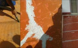 6 Aspiración, reparación y sellado de grietas en soporte