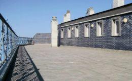25 Terraza principal terminada.