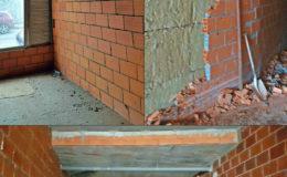 1 Estado anterior. El tabique izquierdo divisorio doble presenta una deformación por dilatación debido a humedad y Tª Para resolverla, se demolerá hasta su cota no deformada y se reconstruirá con perfilería galvanizada y fibroyeso.
