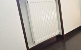 4 Huecos de radiadores vueltos a su estado original después de nueva instalación