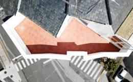 26 Vista aérea de la terraza pequeña acabada
